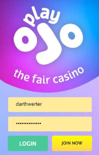 Play OJO Casino Login
