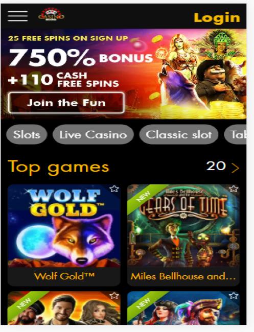 Casino Moons Login