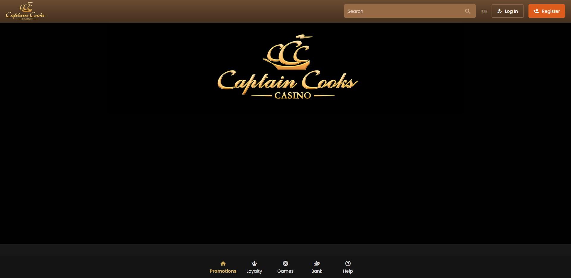 Captain Cooks Casino Login