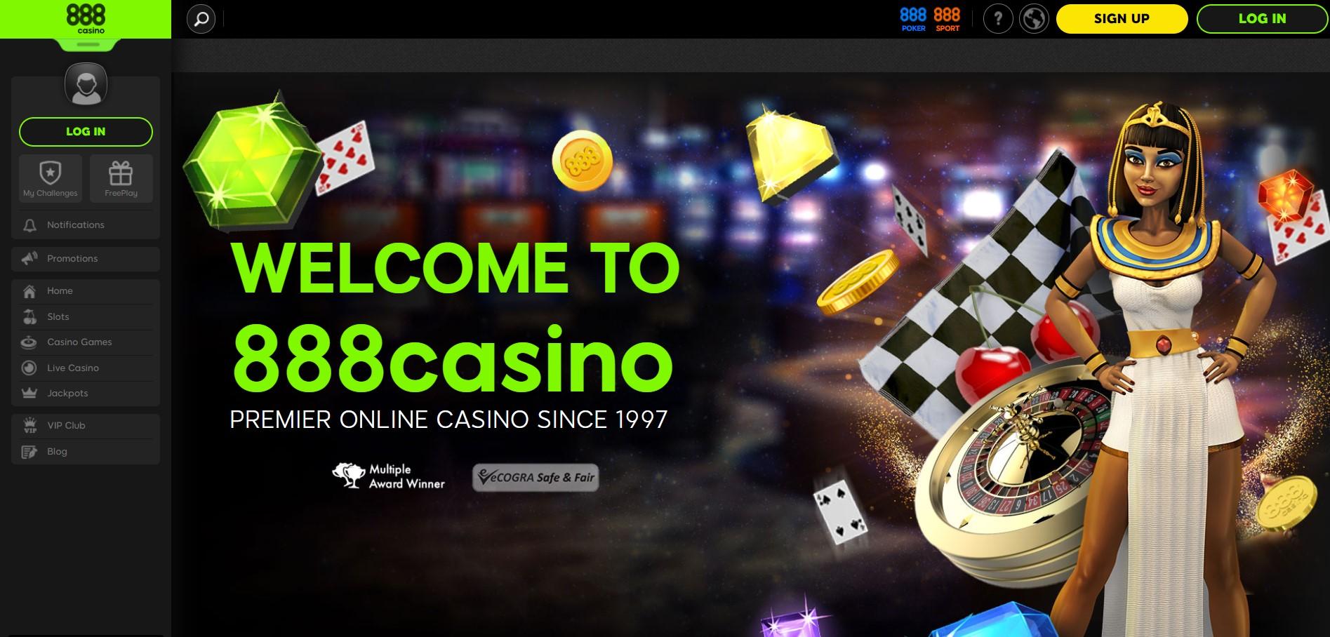 Casino 888 Login desktop