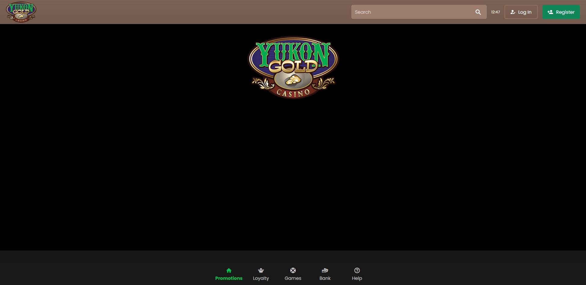 Yukon Gold Casino registration1