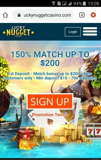 lucky nugget casino mobile