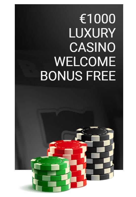 luxury casino bonus