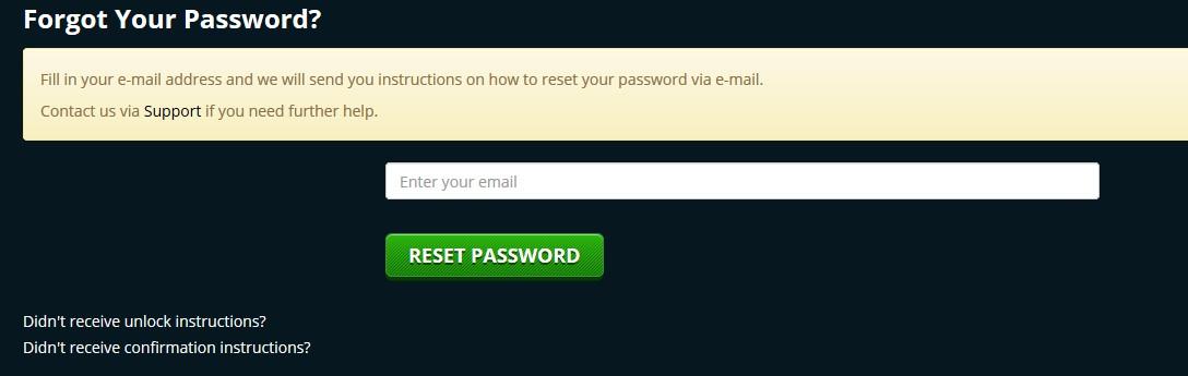 playamo casino password