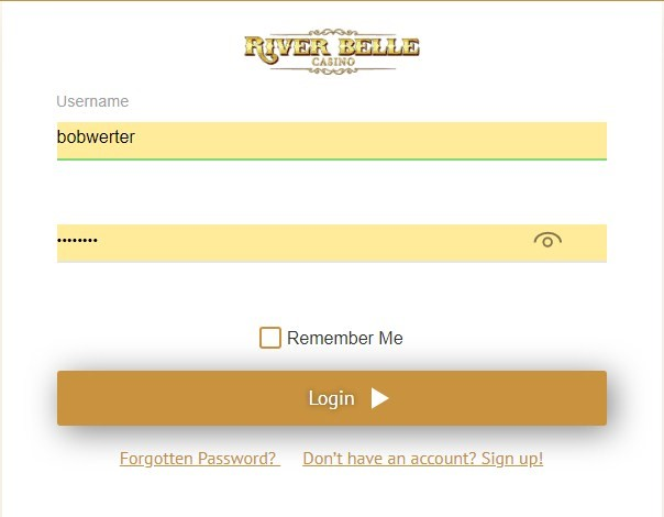 riverbelle casino login