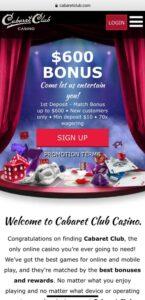 cabaret club casino mobile login