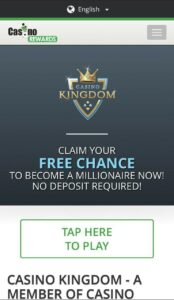 Casino Kingdom Mobile Login