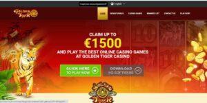 Golden Tiger Casino Password Recovery
