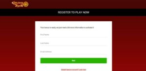 Golden Tiger Casino Registration