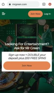 Mr Green Casino Mobile Login