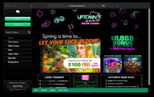 Uptown Casino Login