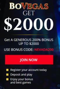 Bovegas Casino Register