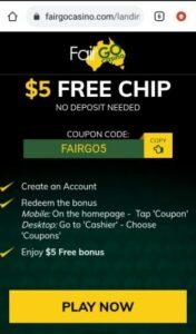 Fair Go Casino Mobile Login