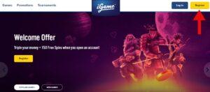 iGames Casino Login
