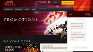 Lucky Red Casino Password Recovery