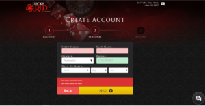 Lucky Red Casino Register