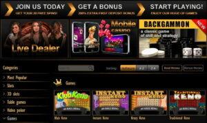 Pamper Casino Games