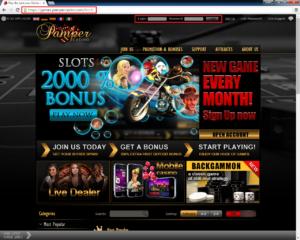 Pamper Casino Login