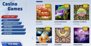 Play2Win Casino Games