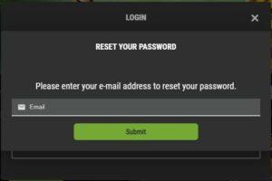 Pokie Spins Casino Password Recovery