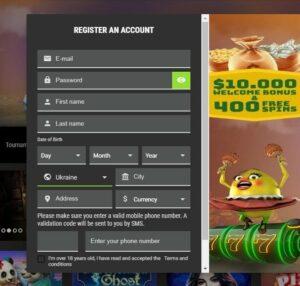Pokie Spins Casino Registration
