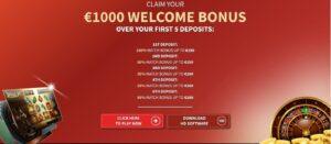 Villento Casino Bonus
