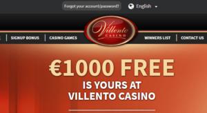 Villento Casino Password Recovery