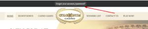 colosseum casino password recovery