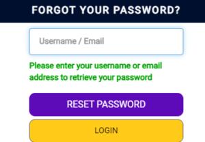 gratorama casino password recovery